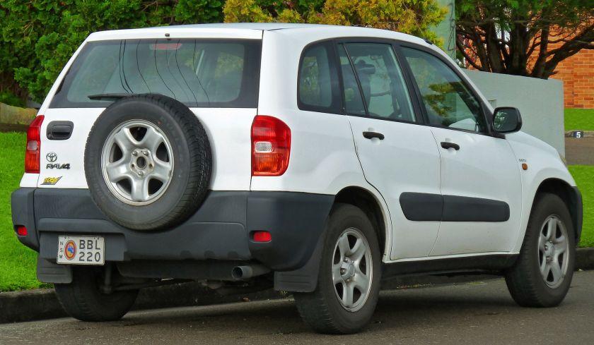 2000–03 Toyota RAV4 (ACA21R) Edge wagon