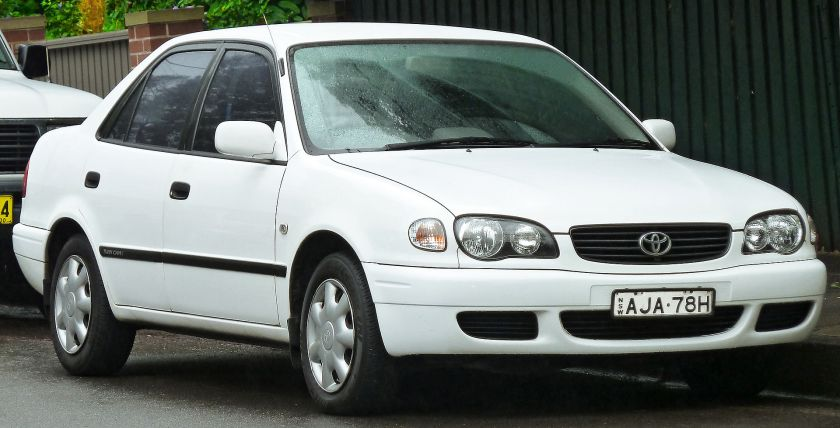 2000–2001 Toyota Corolla (AE112R) Ascent sedan