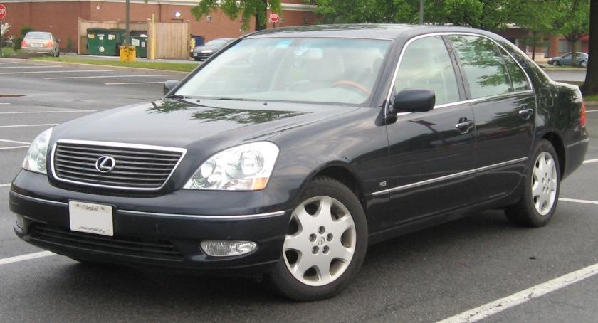 2001-03 Lexus LS 430 Black Onyx