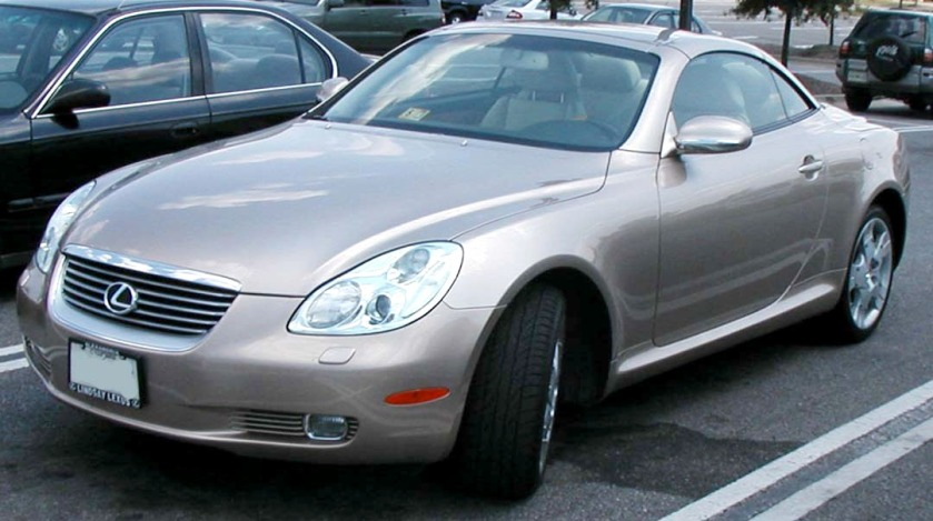 2001-05 Lexus SC430 photographed in USA