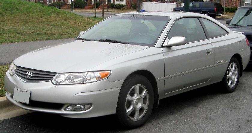 2002-03 Toyota Solara SLE coupe