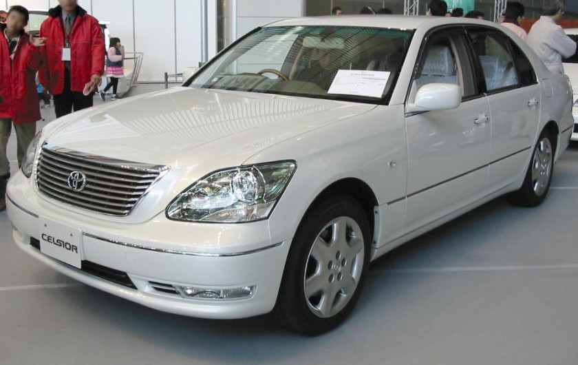 2003 Lexus LS430 01 or Toyota Celsior