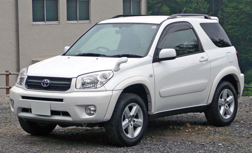 2003–05 Toyota RAV4 hardtop, Japan