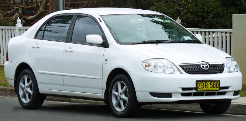 2003–2004 Toyota Corolla (ZZE122R) Conquest sedan