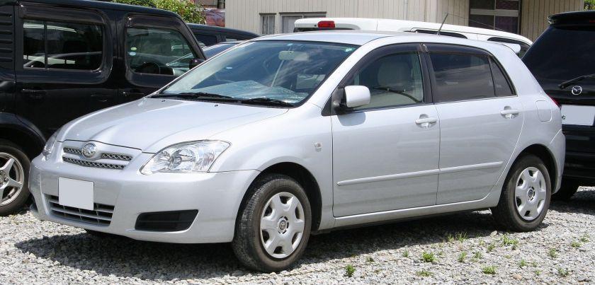 2004-06 Toyota Allex (Japan)