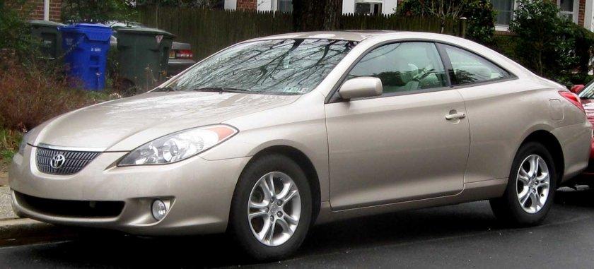 2004-06 Toyota Solara SE coupe