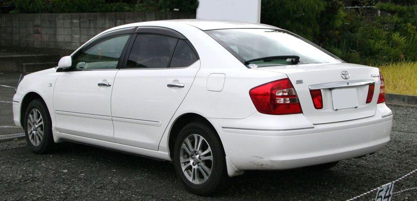 2004-07 Toyota Premio rear