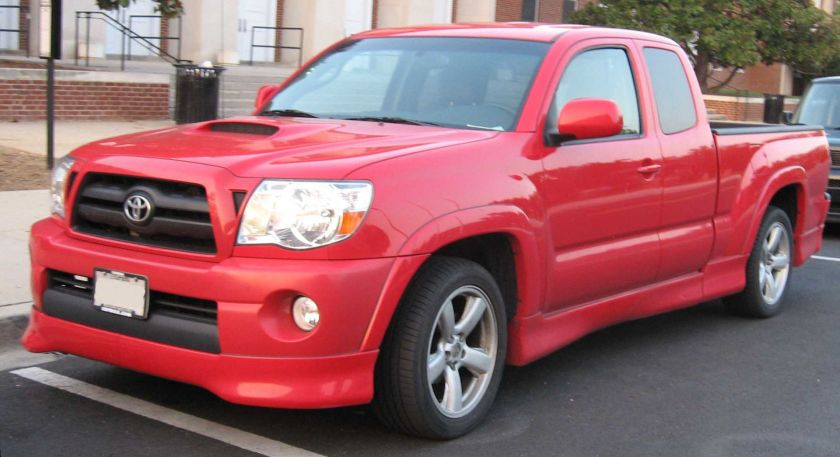 2005-08 model year Tacoma X-Runner extended cab