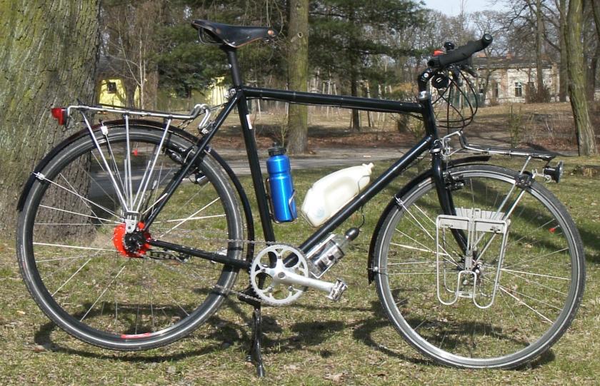 2006 Reiserad aufgebaut auf Wanderer-Rahmen