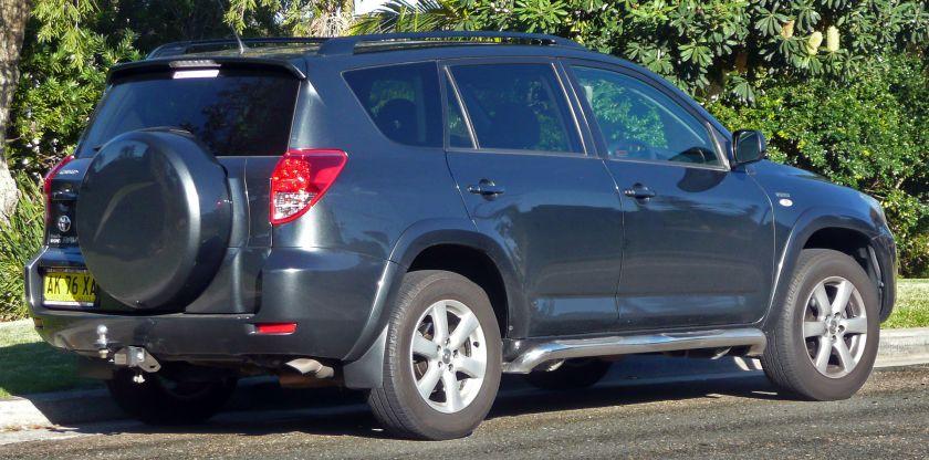 2006–08 Toyota RAV4 (ACA33R) Cruiser
