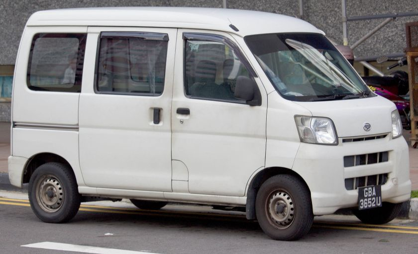 2007 Daihatsu Hijet, in Singapore (10th Generation)