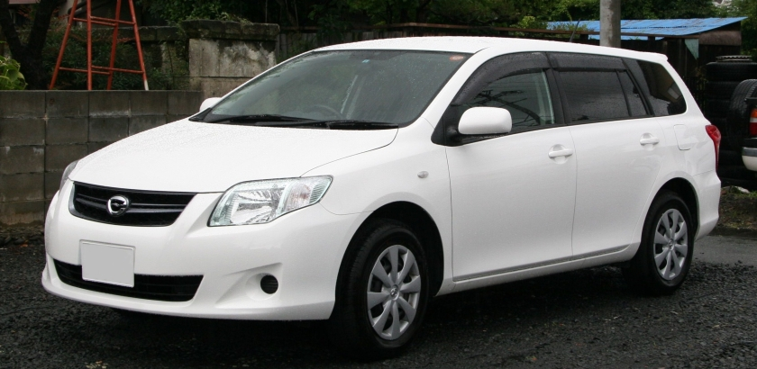 2008 Toyota Corolla Fielder E140 Japan