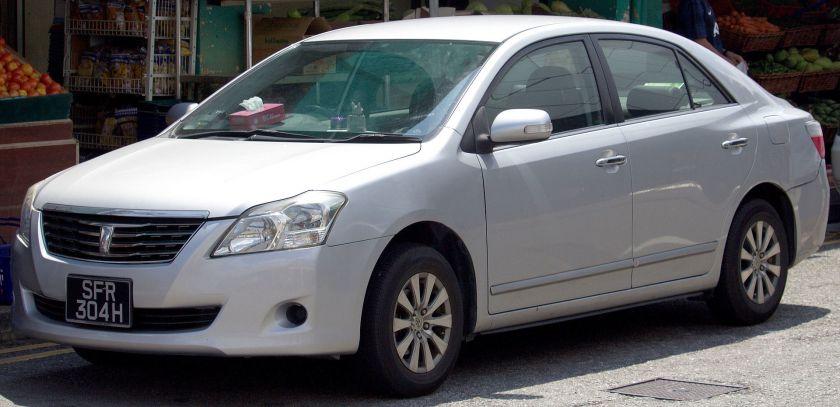 2008 Toyota Premio (T260) 1.5F sedan (2007-10)1