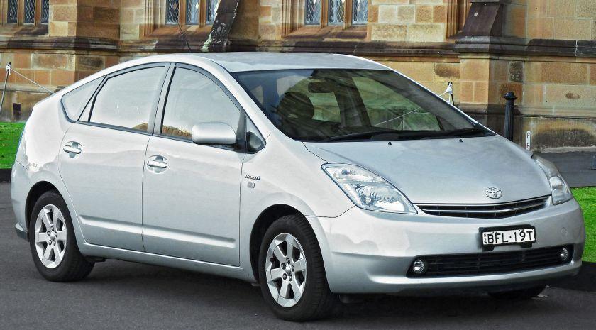 2008 Toyota Prius (NHW20R) liftback