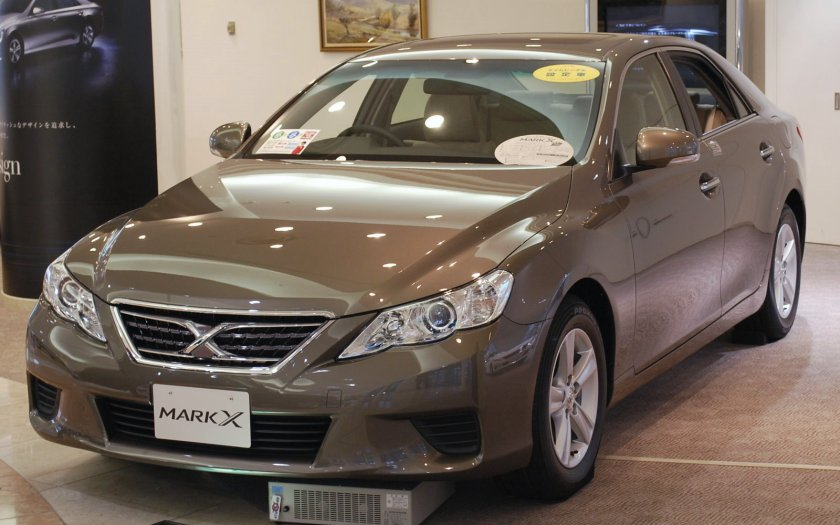 2009 Toyota Mark X 250G Standard front