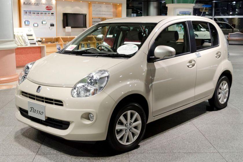 2010 Toyota Passo +Hana (2010-14)