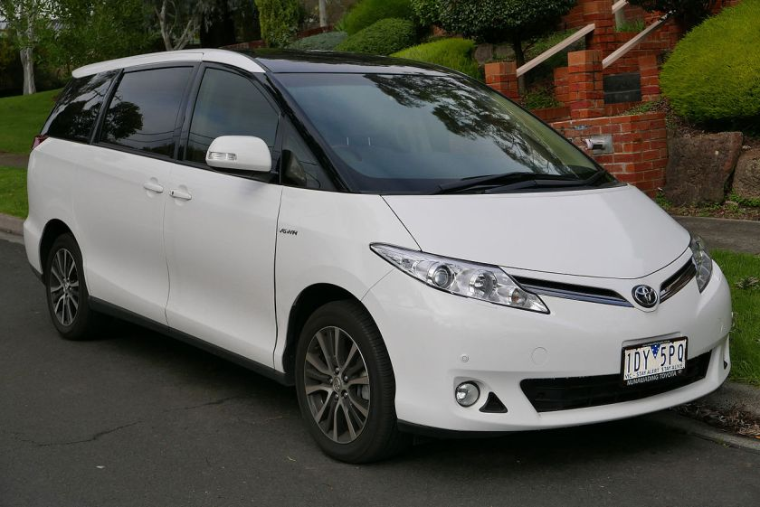 2012-15 Toyota Tarago (GSR50R MY13) Ultima van