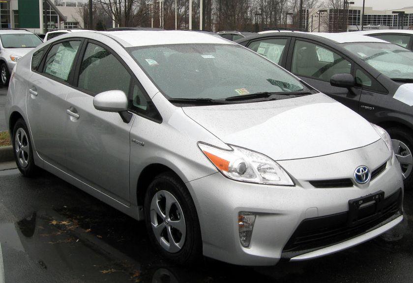 2012 Toyota Prius Four model