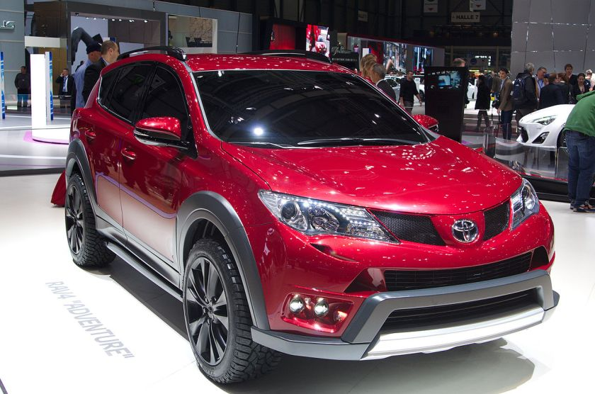 2013 RAV4 Adventure at Geneva, 2013