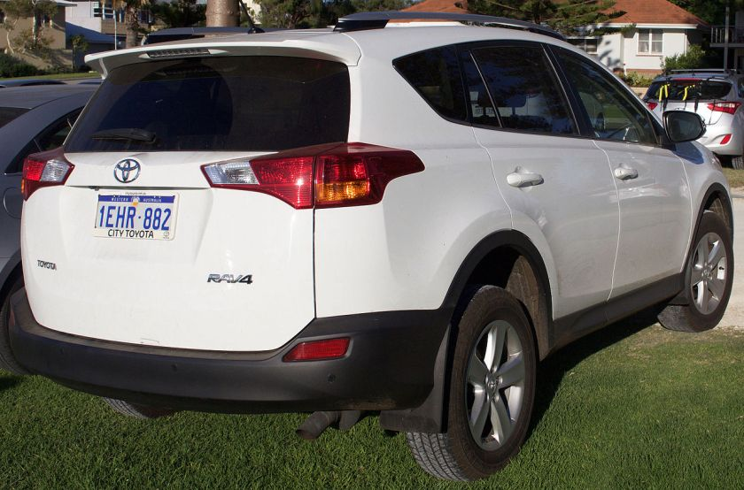 2013 Toyota RAV4 (ALA49R) GXL wagon