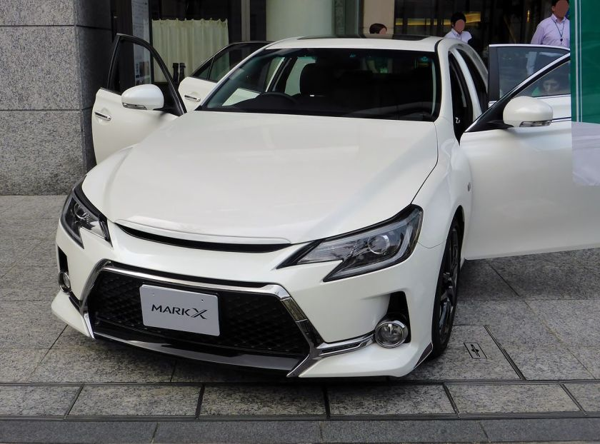 2014 Toyota MARK X G's (X130) front.