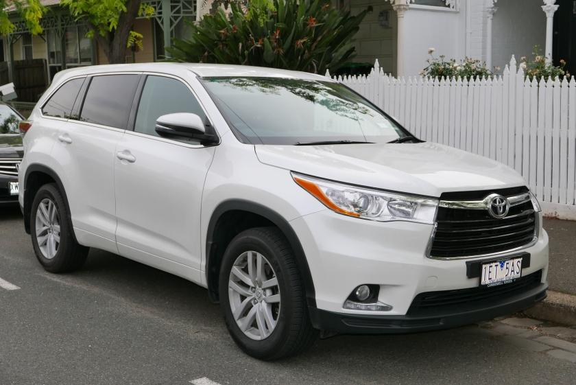 2015 Toyota Kluger (GSU55R) GX wagon