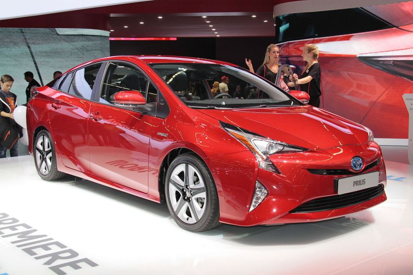 2015 Toyota Prius 4th Gen. at the 2015 IAA in Frankfurt