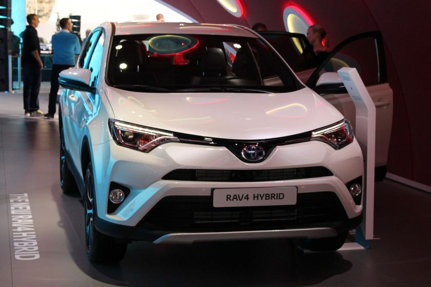 2015 Toyota RAV4 at Internationale Automobil-Ausstellung 2015