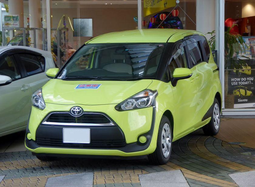 2015 Toyota SIENTA X (DBA-NSP170G) front