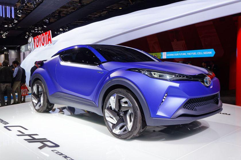 2017 Toyota C-HR Concept