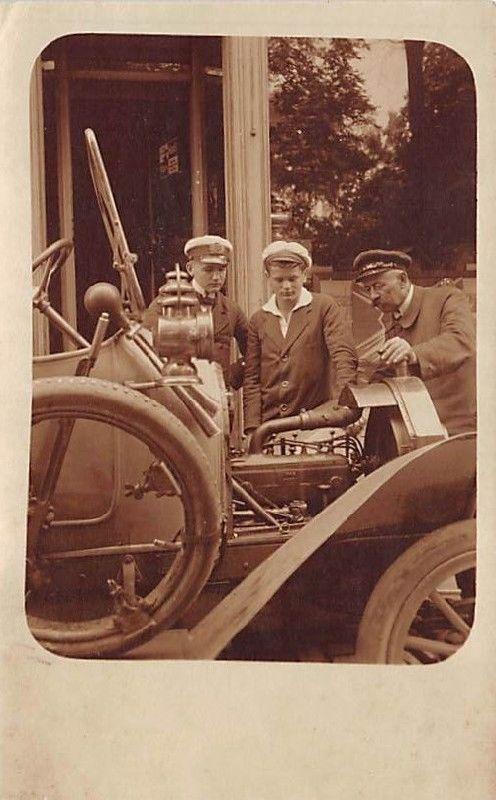 Alte Fotokarte NAG  Wagen der Nationalen Automobil-Gesellschaft