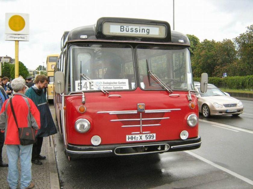Büssing-Bus aus Hamburg