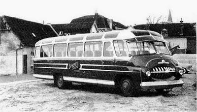 Büssing-bussen die terzijde stonden waren de BT-11 en de BT-12