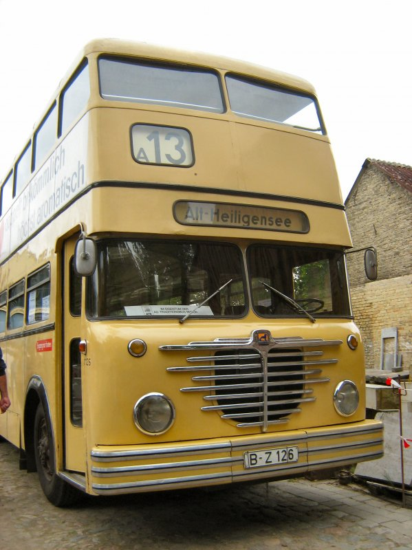Büssing-Doppeldeckerbus