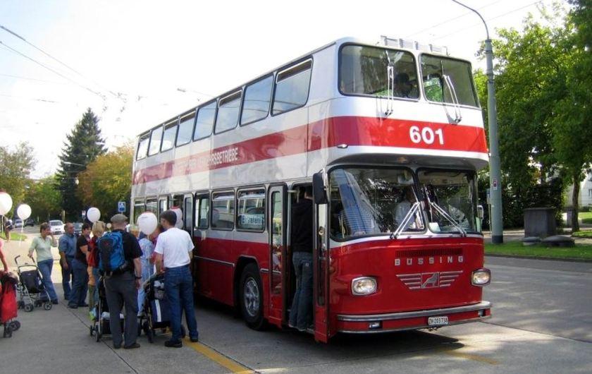 Büssing Doppelstockbus Nr. 601