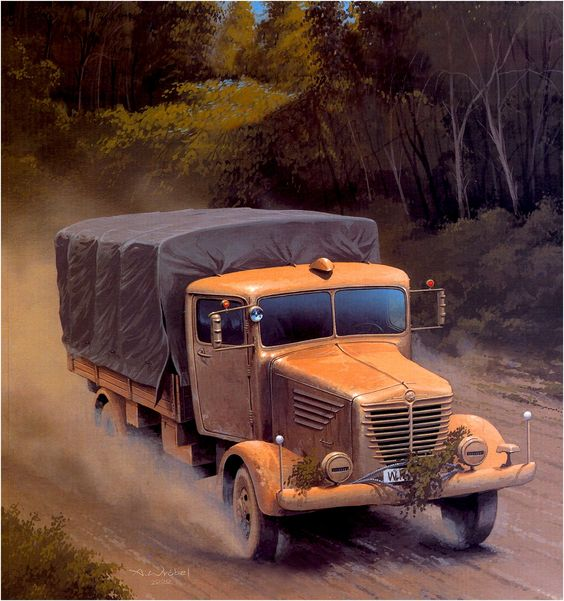Büssing-NAG 4500 A - Alemania