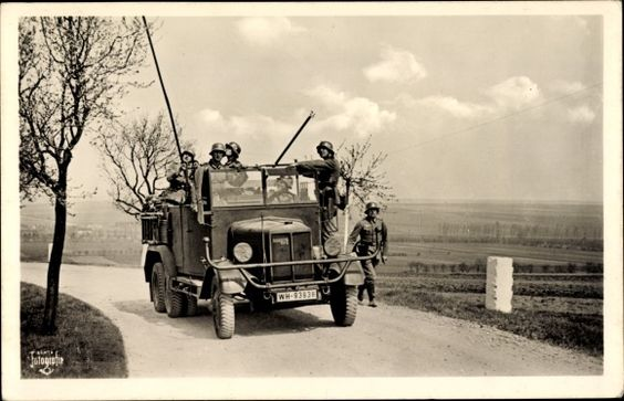 Büssing NAG LKW, Kennzeichen WH-93938, II. WK