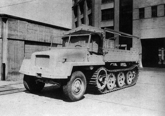 Büssing-NAG schwerer Wehrmachtschlepper 8t Zugkraftwagen