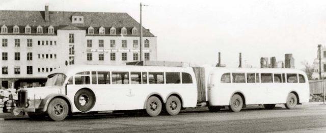 Büssing-NAG-Zug des VEB Kraftverkehr Karl-Marx-Stadt