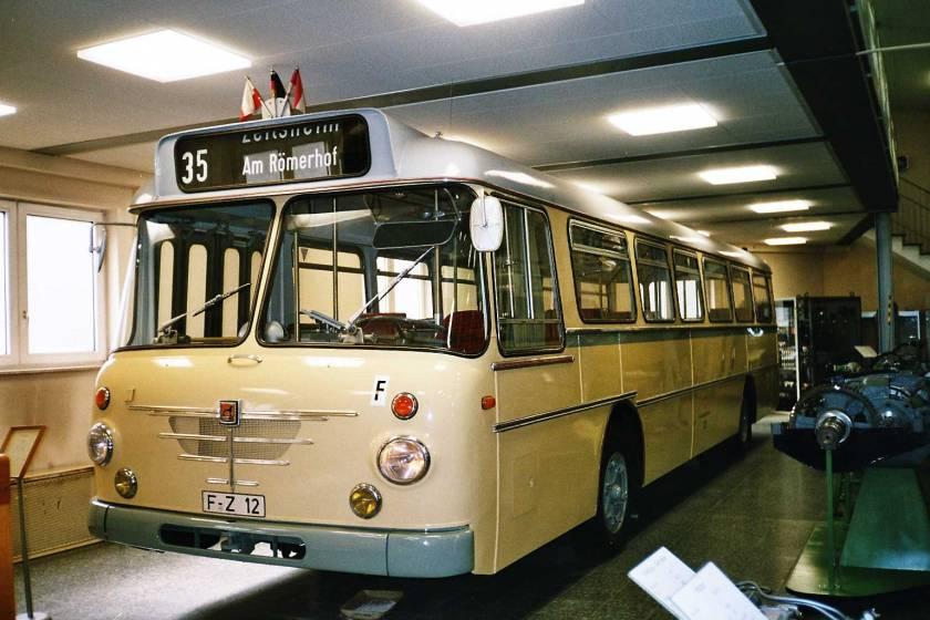 Büssing Omnibus, Frankfurt