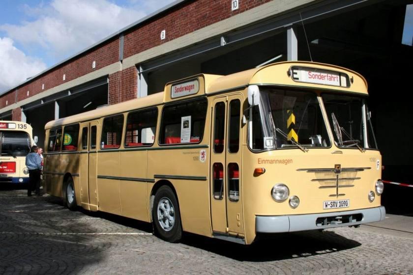 Büssing Präfekt 13D Dieser Bus