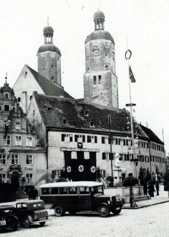 Bussen Büssing Nag Omnibus Burglöwe