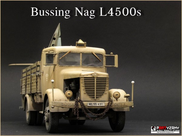 Bussing Nag L4500s German Military Truck