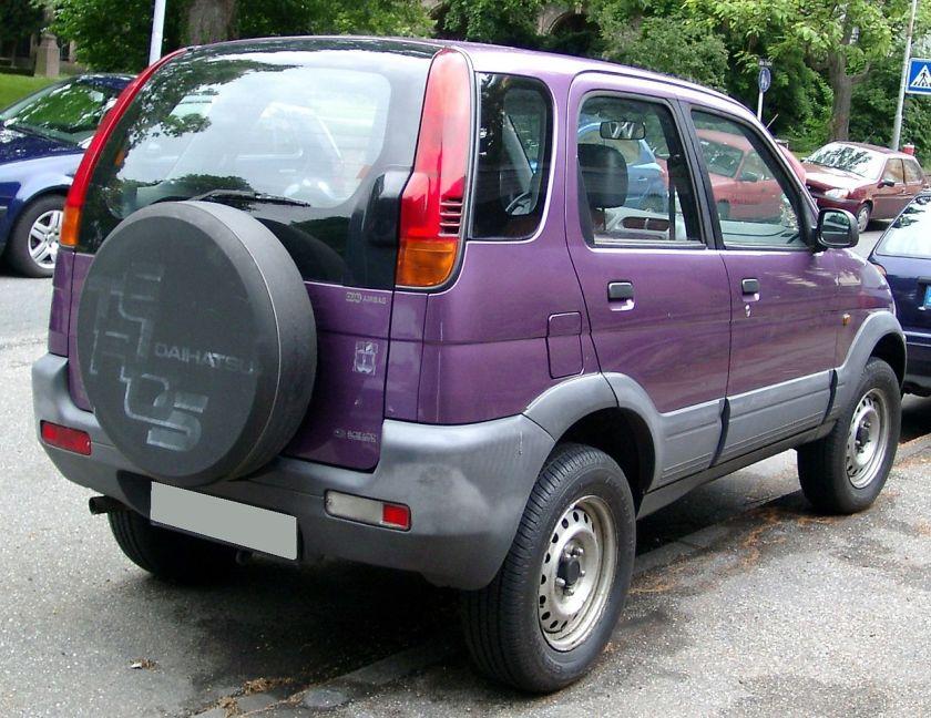 Daihatsu Terios rear