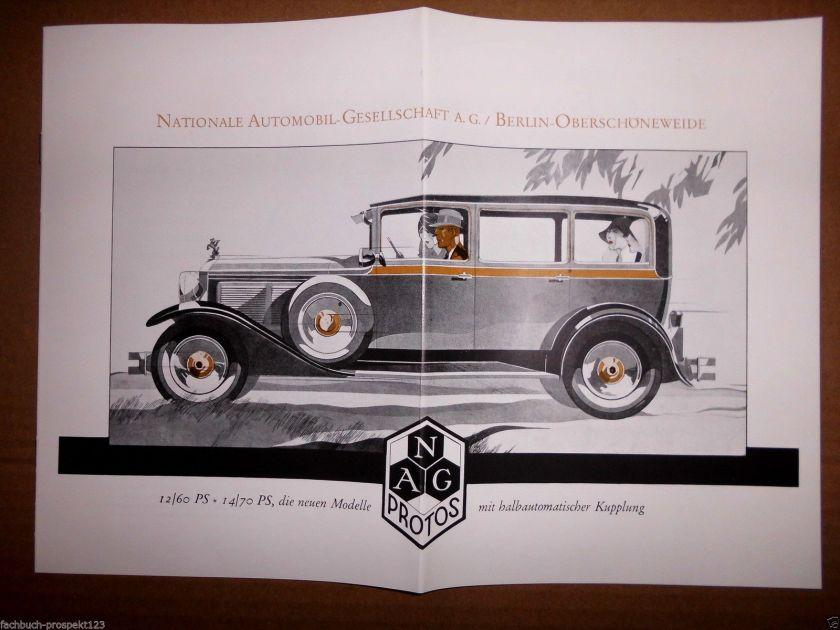 NAG 12-60 PS halbautomatischer Kupplung brochure