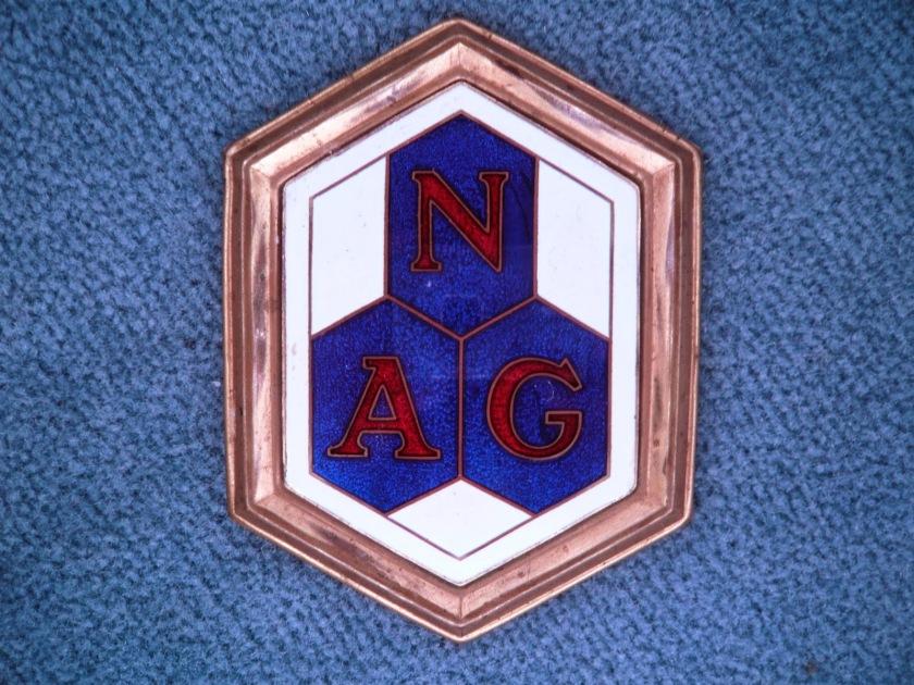 NAG Berlin vintage oldtimer emblem