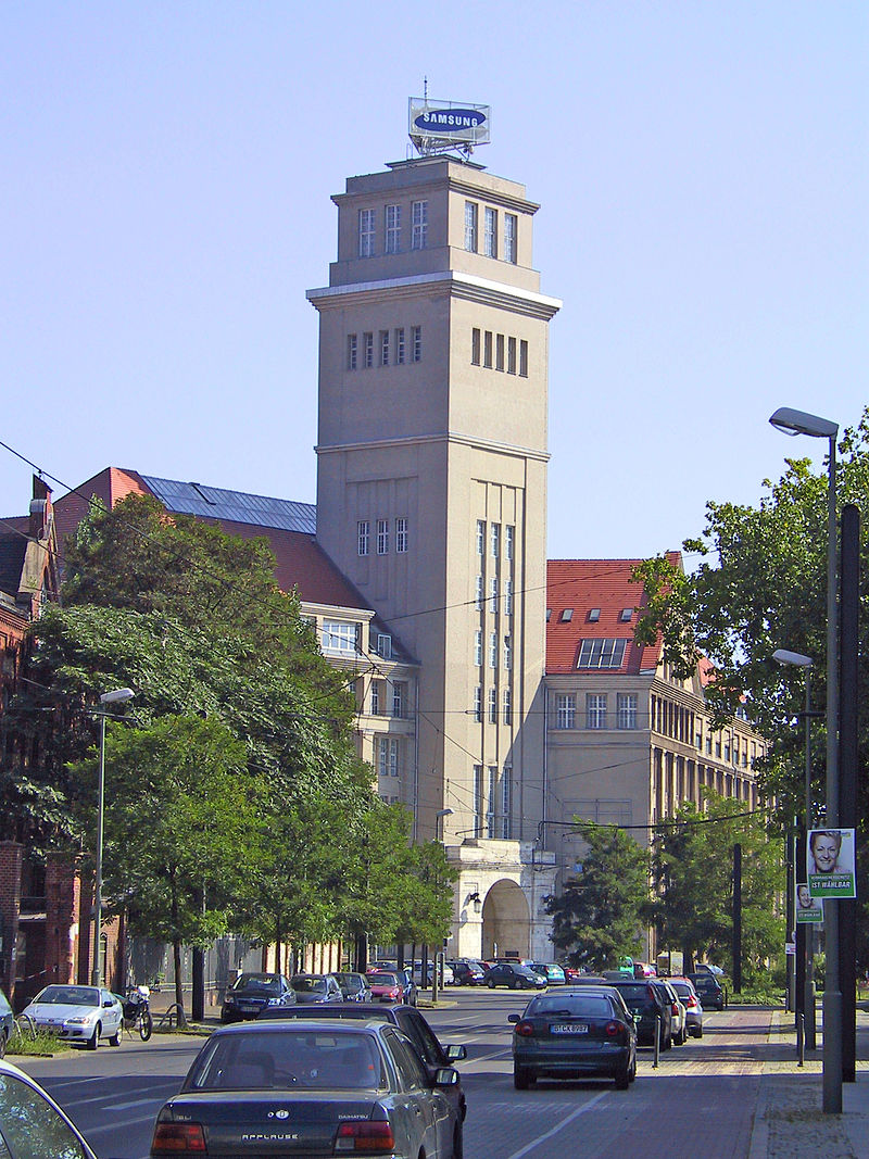 NAG building by Peter Behrens in Berlin-Oberschöneweide