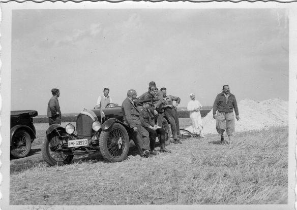 NAG C4 10-50 PS, Baujahr 1925-26, aufgenommen um 1930