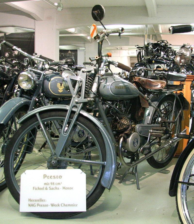Presto 98cc Modell der NAG Presto-Werke Chemnitz