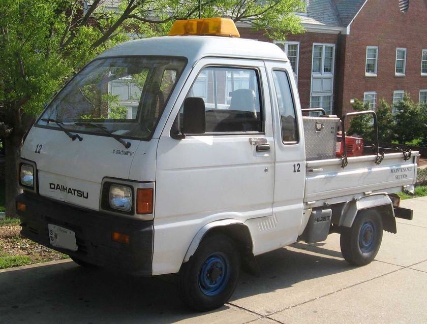Seventh generation Daihatsu Hijet Jumbo (S80)